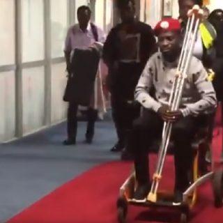 Bobi Wine freed, leaves Uganda for medical care