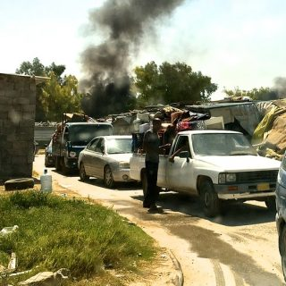 Libyan militias force nearly 2,000 IDPs from Tripoli settlement