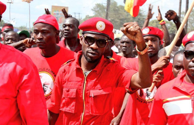 Uganda's Bobi Wine says police killed his driver in campaign-rally clash