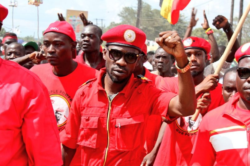 Uganda's Bobi Wine says police killed his driver in campaign-rally clash