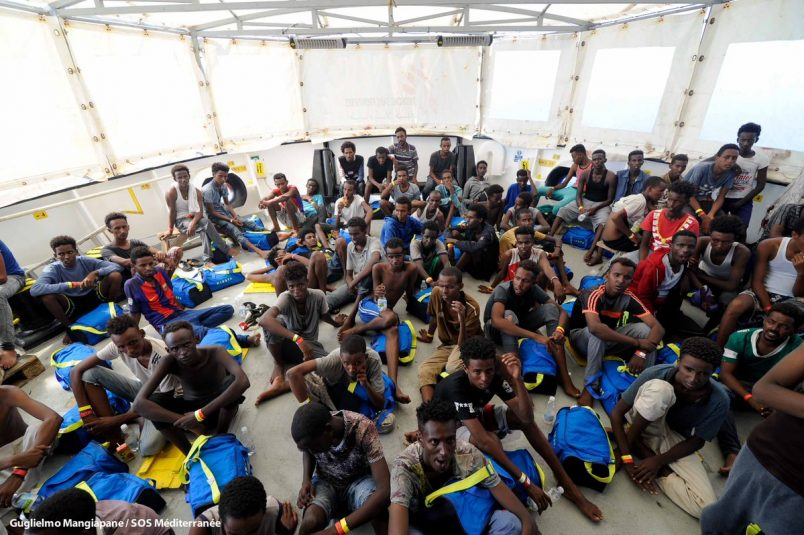 EU nations agree to accept stranded Aquarius migrants