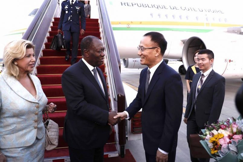 Kaboré: 'Africa has chosen China' as leaders arrive in Beijing