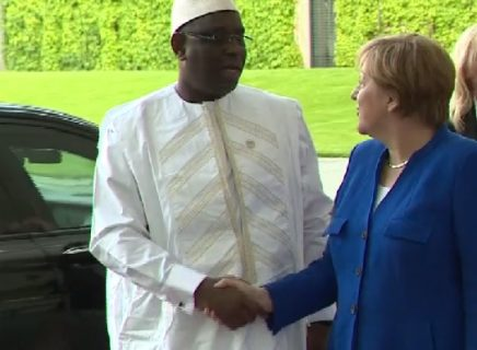 Merkel heads to Senegal, May moves on to Nigeria and Kenya