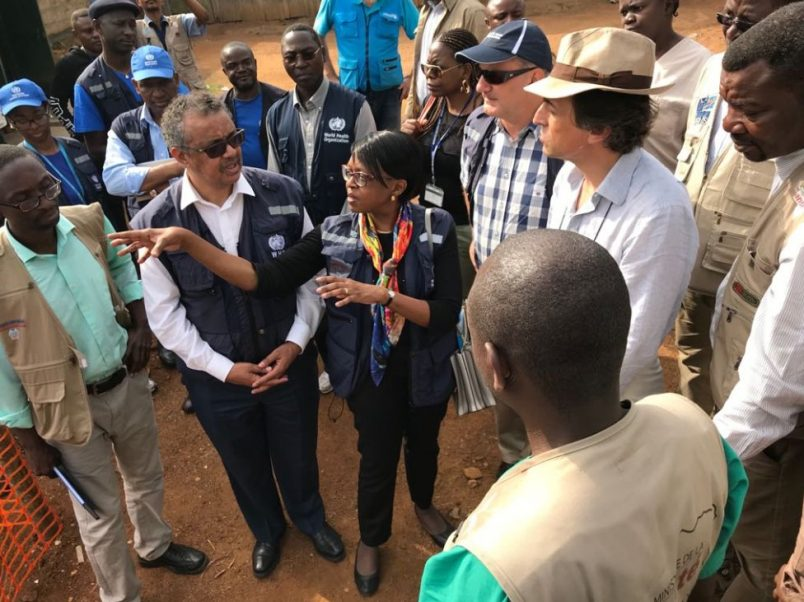 WHO's Tedros to meet Tshisekedi on Ebola, DRC health system