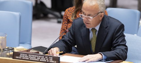 Keating warns UN Security Council on Somalia progress
