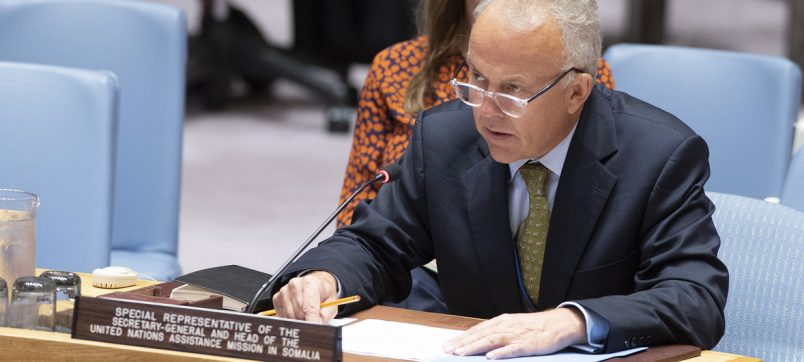 Keating warns UN Security Council on Somalia progress