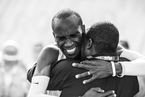 Pongezi sana: Kenya's Kipchoge, Cherono set records in Berlin
