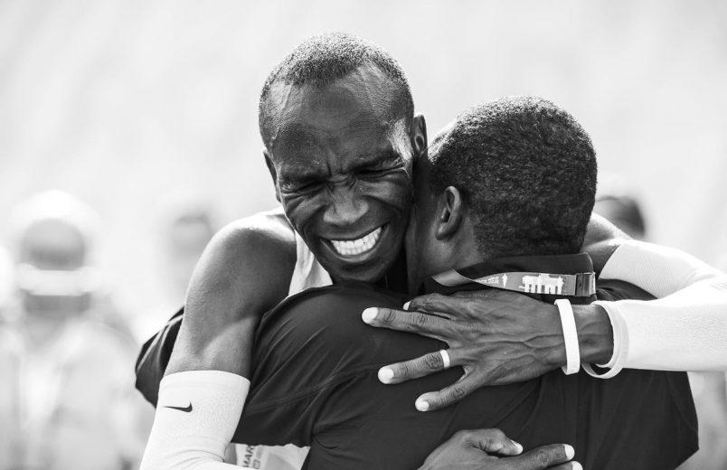 Pongezi sana: Kenya's Kipchoge, Cherono set records in Berlin