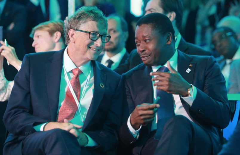 Togo's Gnassingbé talks energy at One Planet Summit
