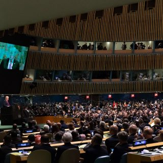UNGA: Trump speaks 35 minutes, never mentions Africa