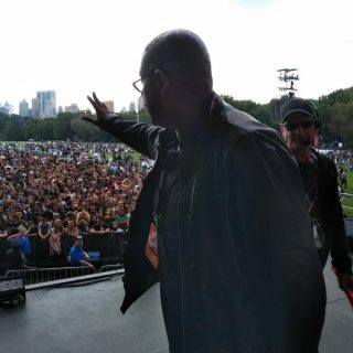 Whitaker, Legend lead the way at disrupted Global Citizen festival