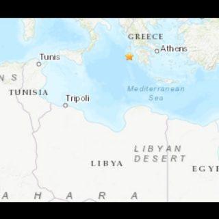Earthquake in Greece felt across the Mediterranean