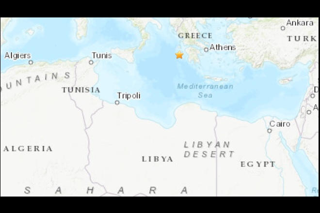 Earthquake in Greece felt across the Mediterranean