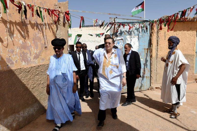 SA diplomat in Western Sahara for talks on Sahrawi issue