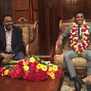 Olympic athlete Feyisa Lilesa returns to Ethiopia