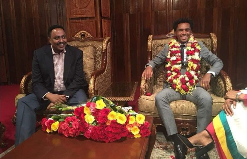 Olympic athlete Feyisa Lilesa returns to Ethiopia