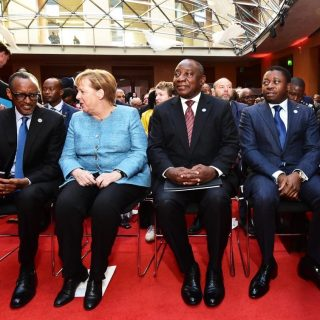 Ramaphosa addresses G20 Africa summit hosted by Merkel