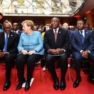 Ramaphosa addresses G20 Africa summit hosted by Merkel