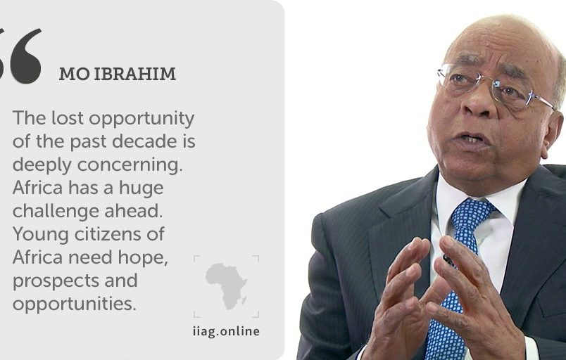 Ibrahim report sees concern for youth, economic opportunity