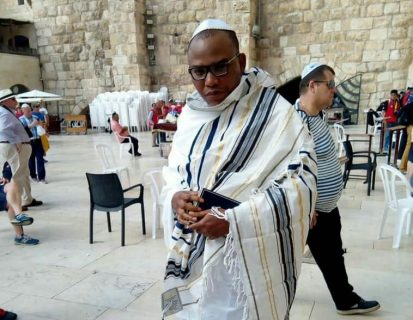 Israel casts a shadow on Biafran leader Nnamdi Kanu sighting