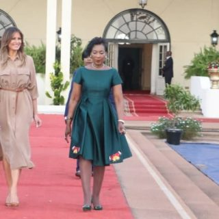 Melania Trump visits Malawi on Africa goodwill tour