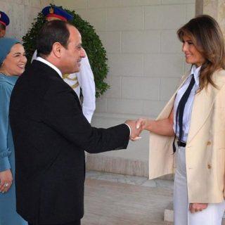 Melania Trump wraps up Africa tour in Cairo