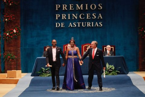 African health team honored at Spain's Princess of Asturius Awards