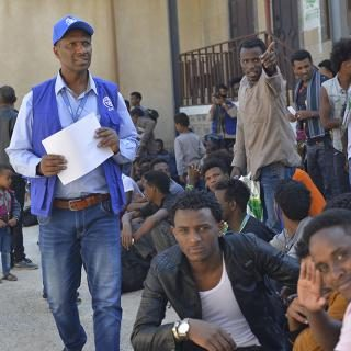 Ethiopian migrants head home from Yemen