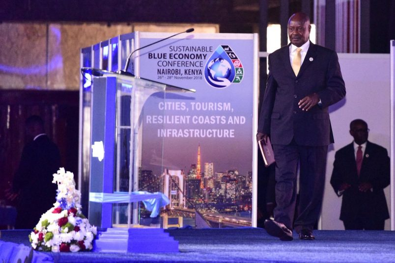 Uganda's Museveni promises action on 'blue economy'
