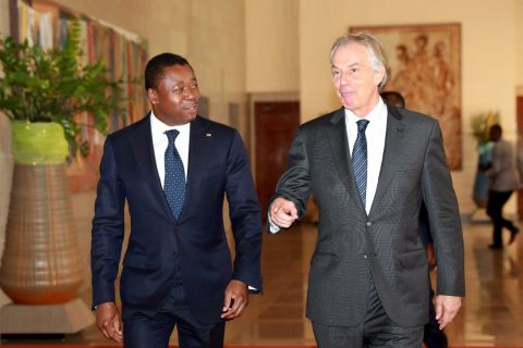 Togo's Gnassingbé, Tony Blair talk economic development