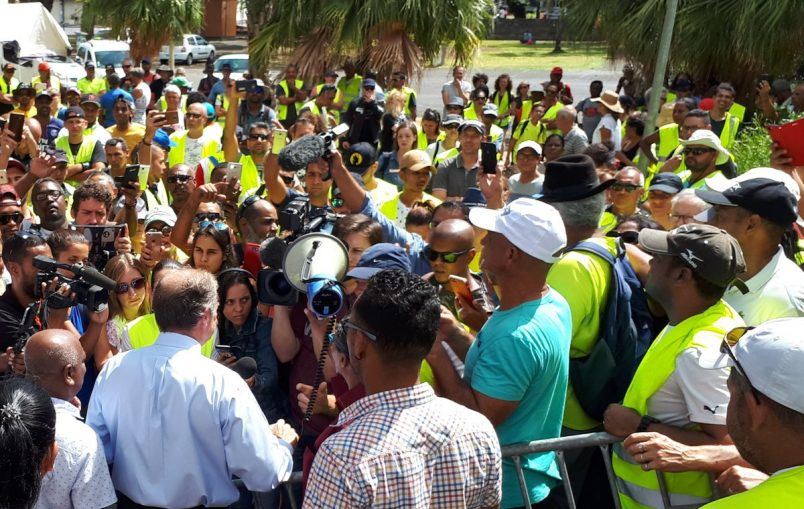 Beyond Paris, the 'Gilets Jaunes' protests continue to rile Reunion Island