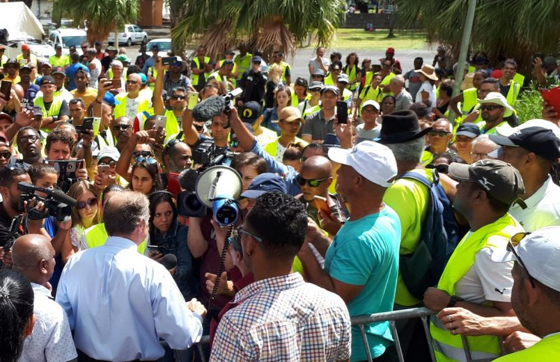 Beyond Paris, the 'Gilets Jaunes' protests continue to rile Reunion Island