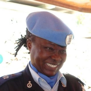 Ghanaian officer wins UN's top female cop award