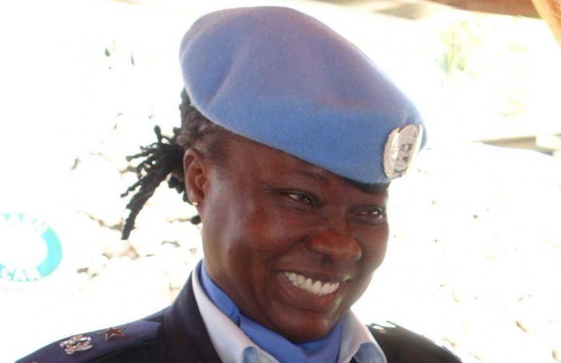 Ghanaian officer wins UN's top female cop award