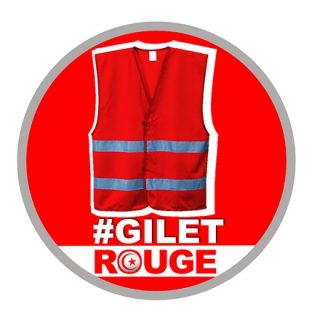Tunisian youth launch 'gilet rouge' movement
