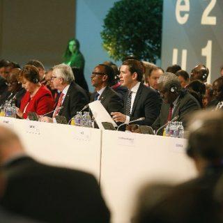 AU leaders, EU press for partnership in Vienna