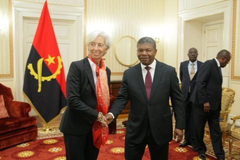 IMF's LaGarde says oil-dependent Angola must diversify economy