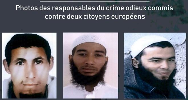 Morocco IDs terror suspects in European tourist deaths