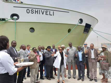 Namibia's new fishing vessel a boost to its blue economy