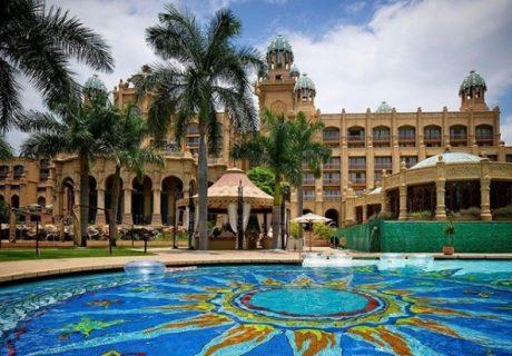 Storm floods Sun City hotels, leaves mudslides in resort pools
