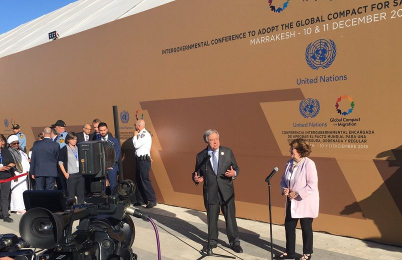 Global Compact for Migration is adopted in Marrakech