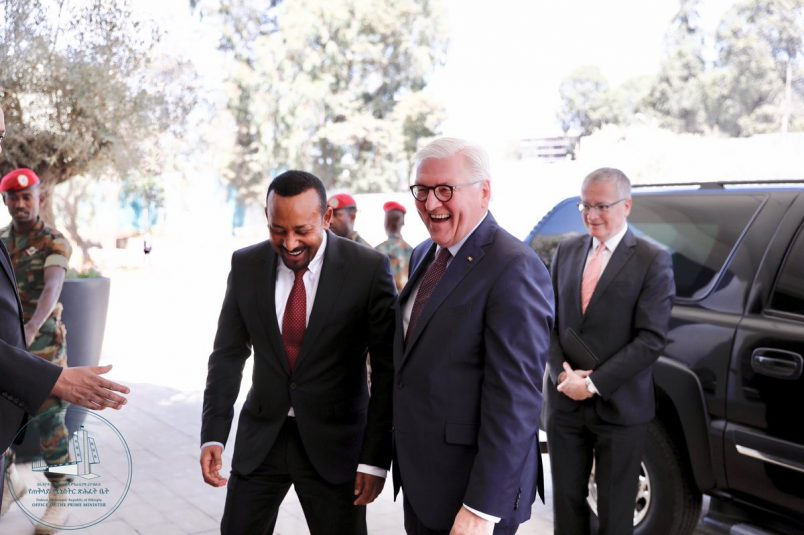 Germany agrees it's 'the right time' to be in Ethiopia
