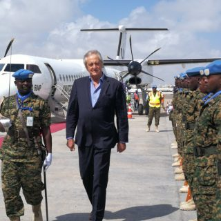 UN chief backs Haysom but says he'll replace him in Somalia