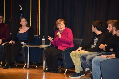 In Greece, Merkel admits EU migration policy isn't working