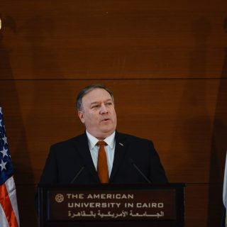 Pompeo's Egypt speech targets Iran, vows U.S. resolve in Middle East