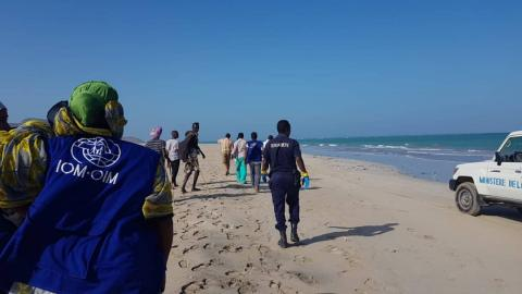 Five dead, at least 130 missing from Djibouti migrant boats