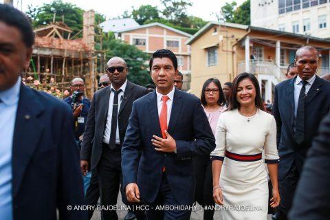 Madagascar's Rajoelina calls for unity as court upholds election win