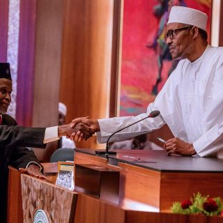 Nigerian opposition outraged as Buhari defends judge suspension