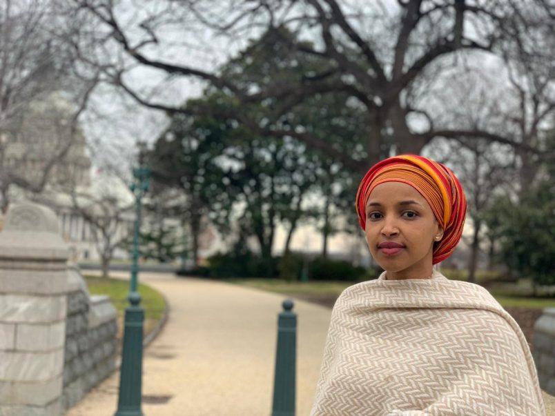 Somali-American Omar is sworn into U.S. Congress