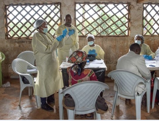 DR Congo: Updated Ebola numbers show 721 cases, 446 fatalities